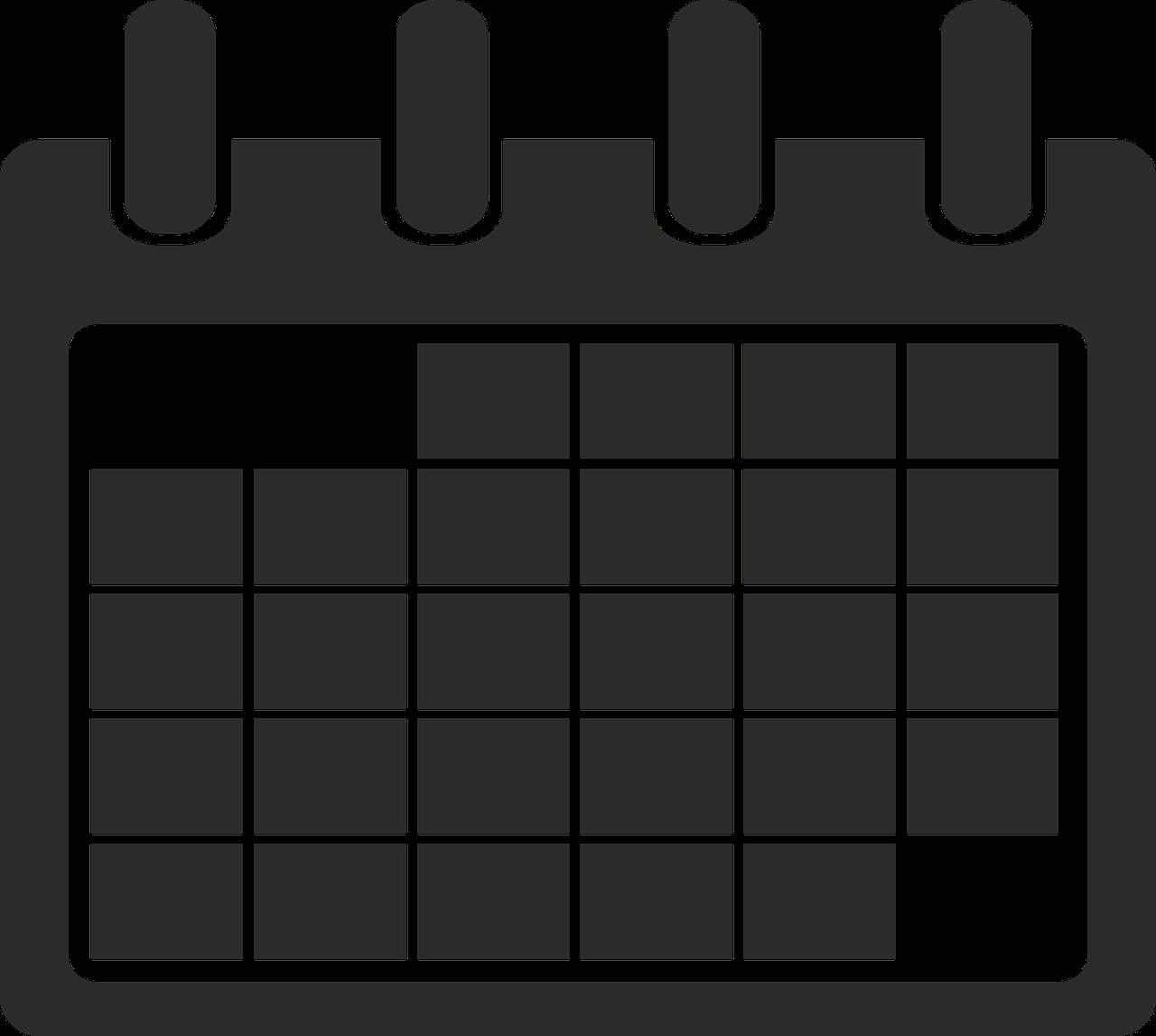 Symbol Kalender