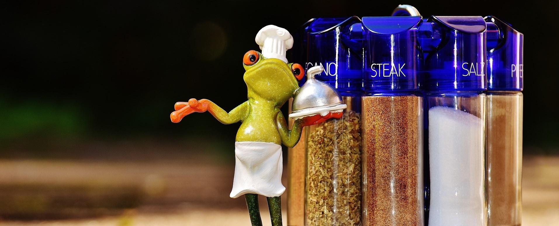 Kellner Frosch Gewürze Steak Salz Pfeffer
