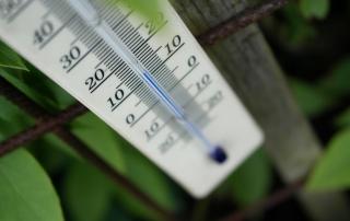 Thermometer außen