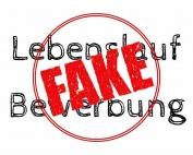 Lebenslauf Bewerbung Fake